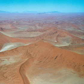 Set off over the seemingly endless sands of Sossusvlei...