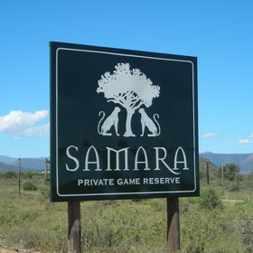 View map of Samara Game Reserve