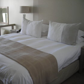 Most of the rooms at The Bay are identical, its just their location that determines the cost.