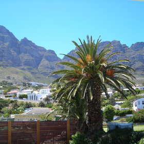 The mountain facing rooms all have views of Table Mountain and the Twelve Apostles...