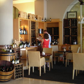 Next to the deli is a wine tasting area where you can sample some of the Capes best wines.