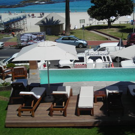 There are a further three smaller pools overlooking Camps Bay beach.