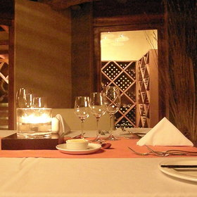 ...where romantic dinners can be arranged.