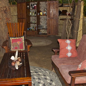 The camp offers a lounge area where you can relax whilst enjoying a drink from the bar.