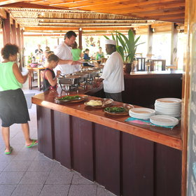 ...serving fresh and locally flavoured food.