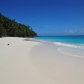 ...and the white-powdered beaches are like giant sandpits!
