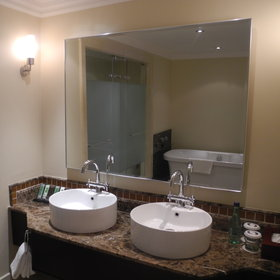 All rooms have an en-suite bathroom with his and hers bathrooms....