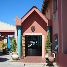 Kalahari Arms Hotel is located in Ghanzi...