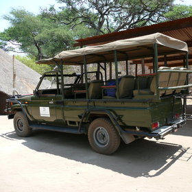 Activities focus on boating along the Chobe river, and also game drives...