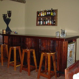 and a welcoming bar.