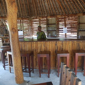 ...and a small bar area offering refreshing drinks.
