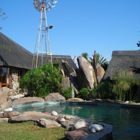 Kalahari Bush Breaks has also got a pool to cool off from the days heat.
