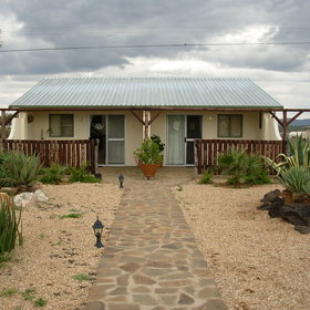 ...close to Windhoek International Airport.