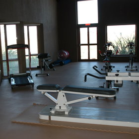 The comprehensive spa has numerous treatment rooms, its own gym …