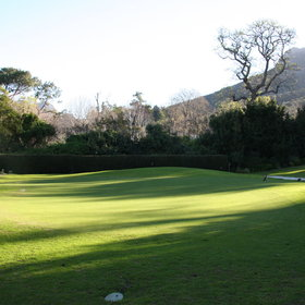 ...or practice your golf on their very own putting and chipping green...