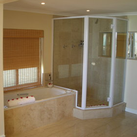 ...and luxurious en-suite bathrooms.