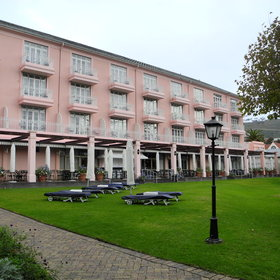 Mount Nelson Hotel is set in the heart of Cape Town's cultural centre.