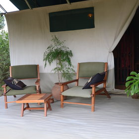We particularly enjoyed the large veranda areas…