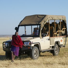 Porini Lion Camp has very good game-drive vehicles, with excellent vantage points.