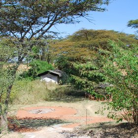 It nestles on the meander of a stream in the Ol Kinyei Conservancy – the only camp in the area.