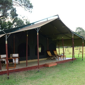 For a special occasion request the very private honeymoon tent!