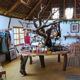 Sarara has a lovely shop stocked with goods crafted locally, and from Nairobi.