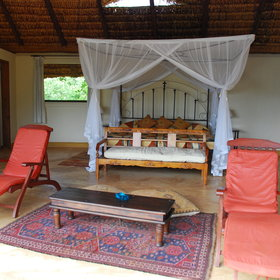 ... but have a similar rustic African style...