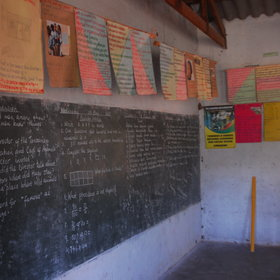 ...and see the hard-work being done to educate local children in this rural community