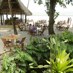 Pinewood has plenty of character and its beach restaurant is very popular.