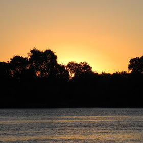 Amazing sunsets are the order of the day at Waterberry Lodge.