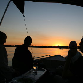 The lodge also has its own boats and offers sundowner cruises…