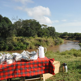 Activities include bush breakfasts, walking safaris…