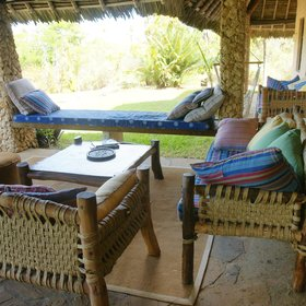 …with plenty of chill-out spots, including a hammock.