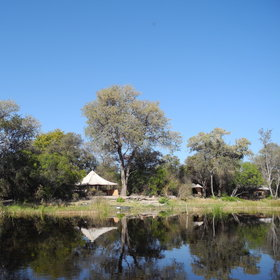 Kala Bushcamp is situated on a 'false spillway' off the Selinda Spillway in northern Botswana.