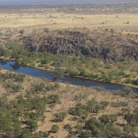 Moving between private campsites in the Savuti corner of Chobe National Park...
