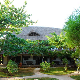 Kinondo Kwetu is a delightful beach lodge on Kenya's coast.