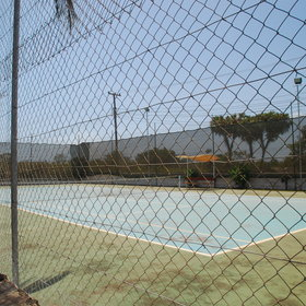 … or perhaps play tennis on the resort's own tennis court.