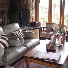 ...combining some country-style furnishings,...