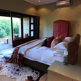 Each suite also possesses a private veranda…