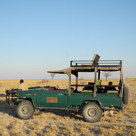 Activities include nature drives in and around Makgadikgadi Pans National Park....