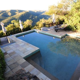 ...or enjoy the lodge's swimming pool.