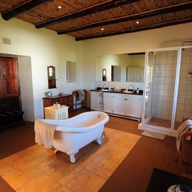 …and a massive en-suite bathroom.