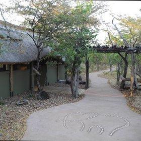 Changa Camp is set beside Lake Kariba, in Zimbabwe's Matusadona National Park.