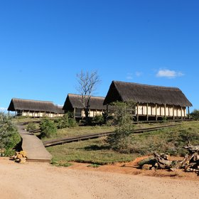 Gorah Elephant Camp is located in a private concession in South Africa's Addo Park.