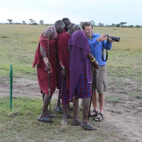 Safari guiding standards are modest, yet the guides know much about politics and culture.