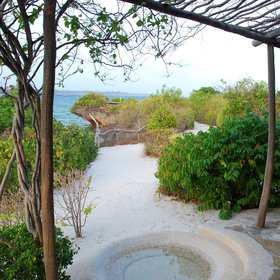 …located at the mouth of Mida Creek, just south of Watamu.
