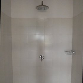 ...and a large shower.
