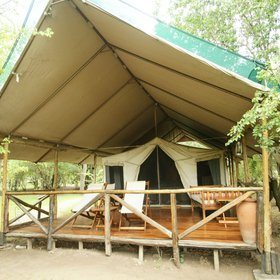 Karen Blixen Camp's tents…