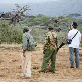 …with informative guides and armed rangers.