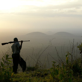 Or you can drive and then walk up into the Chyulu range, which is great for a sundowner.